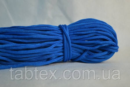 Шнур вязаный 6 мм . 50 м (0,250кг). электрик
