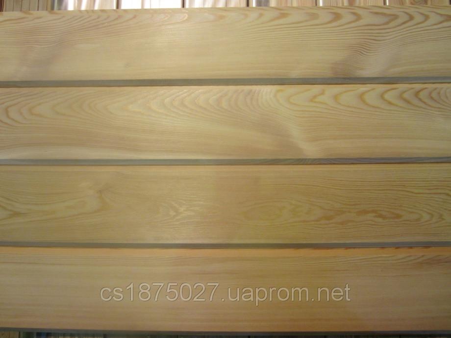 Имитация бруса лиственница (АВ) 20-142-3000...4000мм