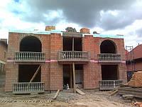 Балконное ограждение из бетонных балясин 1ББ16