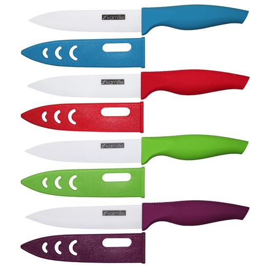 Нож кухонный керамический Kamille разделочный