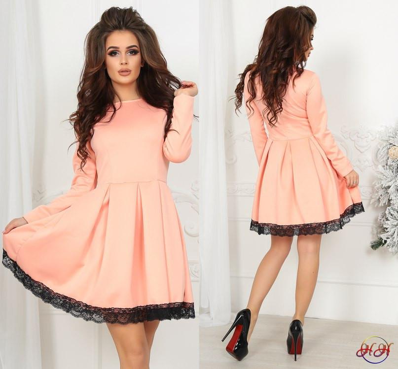 Короткое Платье С Кружевом Купить