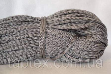 Шнуры вязанные  4 мм 90 м (0,280-0,290кг). серый