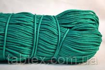 Шнуры вязаные весовые D3мм(1кг=350м)зеленый