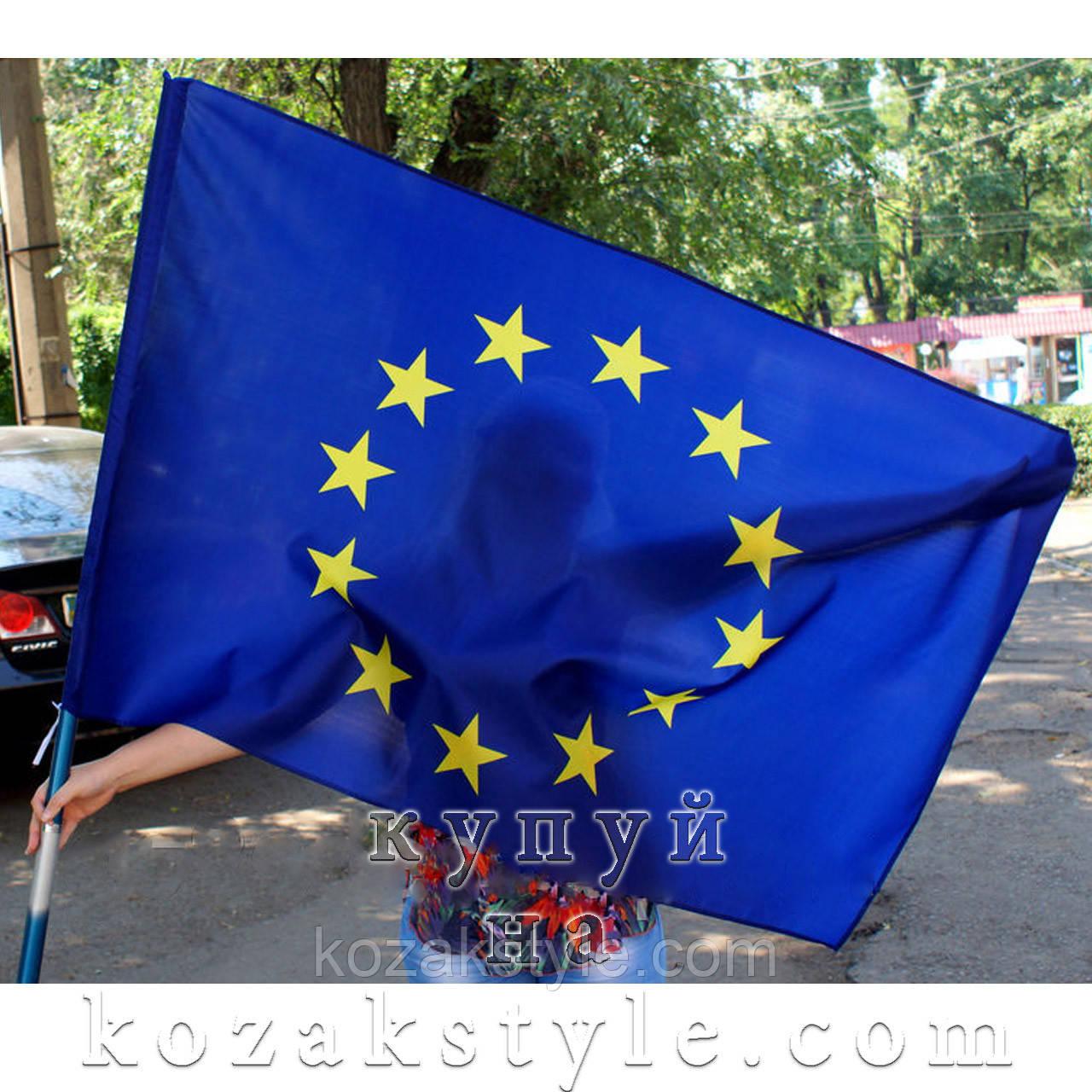 Прапор Євросоюзу нейлоновий 135х90 см