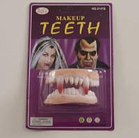 Зубы вампира для тематической вечеринки
