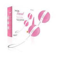 Вагинальные светло-розовые шарики - Joyballs 15045