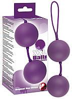 Вагинальные шарики - XXL Balls, purple