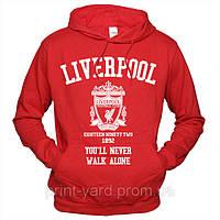Liverpool 02 Толстовка с капюшоном
