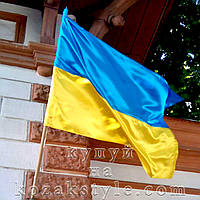 Прапор України атласний (138х85 см)