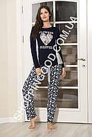 Женская пижама Shirly 4113, домашний костюм с брюками цена со склада