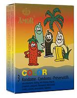 Презервативы - Amor Color 3szt