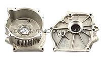 Крышка блока двигателя бензогенератора 2-3,5кВт мотоблока 168F/170F (6,5/7Hp) DIGGER
