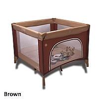 Детский манеж Coto baby Conti Brown