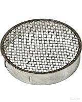 Колпачок для матки круглый D 120 мм н/ж