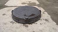 Канализационный люк-обечайка чёрный 1,5т