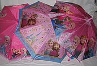 Детский зонт-трость Холодное Сердце , фото 1