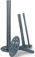ТД Термодюбель с пластиковым стержнем, серый 10х180