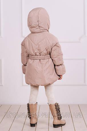 Куртка-пальто зимняя для девочки , фото 2
