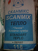 SCANMIX STANDART TEPLO Смесь клеящая теплоустойчивая 5кг