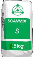 SCANMIX S WHITE Шпаклевка фасадная финишная белая 5кг