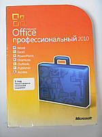 Microsoft Office Professional 2010 32/64Bit Russian DVD (269-14689) повреждена упаковка