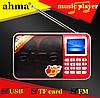 FM радіоприймач Ahma 888 c MP3, фото 3