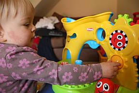 Пізнавальна Дуга з шестерінками і м'ячиками Playskool прокат в Харкові, фото 2