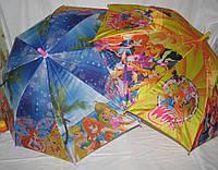 Детский зонт трость Winx Винкс
