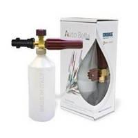 Пенная насадка Idrobase в упаковке с оригинальной бутылкой в сборе под аппараты Кёрхер К-серии