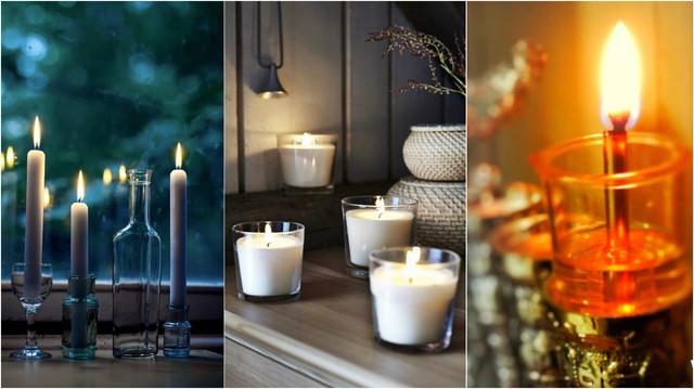 Свечи парафиновые