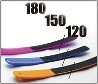 Сталекс Набор пилок для ногтей (пластиковые, 3 шт.) 120/150/180