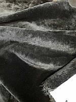 Мех подклад обувной черный мягкий Италия