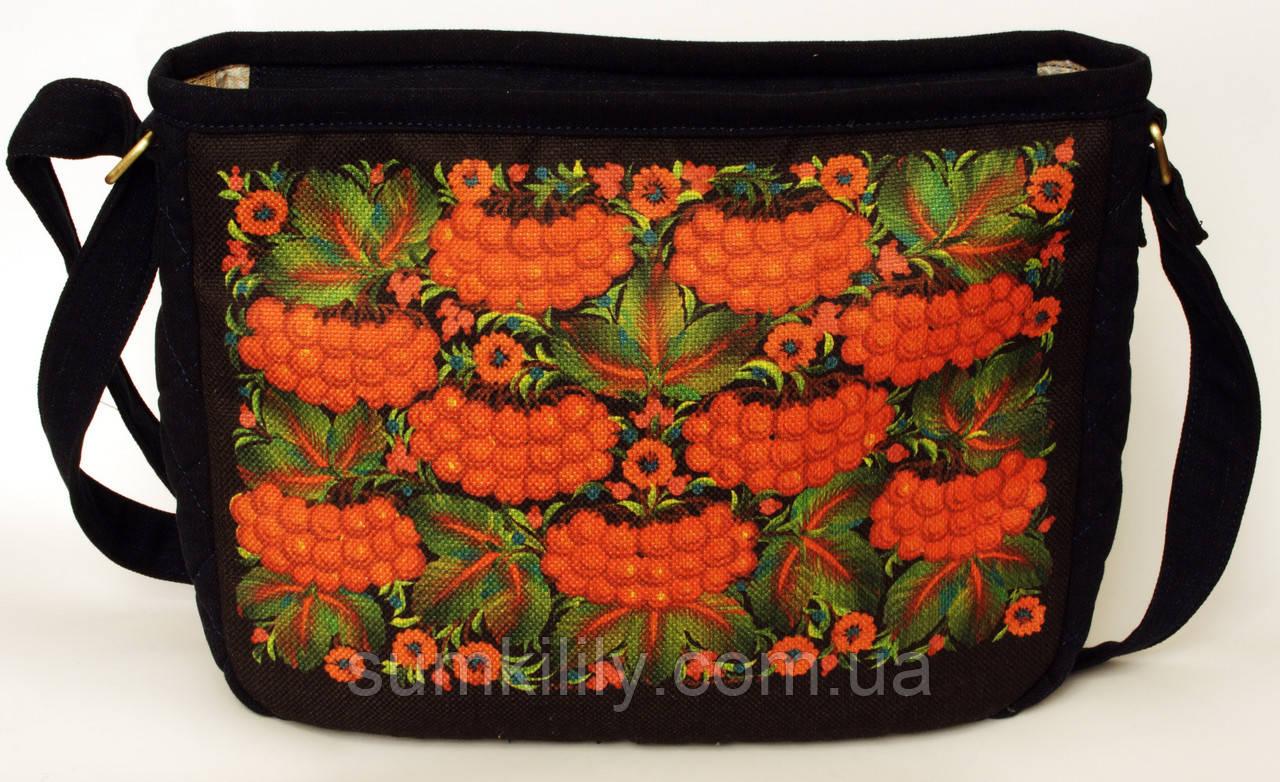 Женская стеганная сумочка Калина