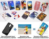 Печать на чехле для Motorola Moto G4 XT1622 (Cиликон/TPU)