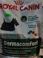 Royal Canin(Dermacomfort)корм для собак мелких пород,склонных к зуду кожи,от10мес  800г.