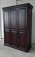 Шкаф 3-х дверный дубовый Флоренция