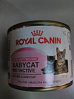 Royal Canin(baby cat instinctive) влажный рацион для котят до4 мес.195г.