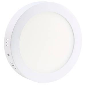 Светильник точечный светодиодный 24Вт накладной Biom круглый белый свет, фото 2