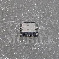 Коннектор Micro USB Nokia 8600/200/210/2700c/301/3120/3720c/501/515/5230/5310/5610/5800/6500c/6500s