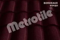 Композитная черепица Metrotile ROMAN (роман) Bordeaux