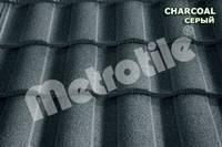 Композитная черепица METROROMAN (Метророман) Charcoal