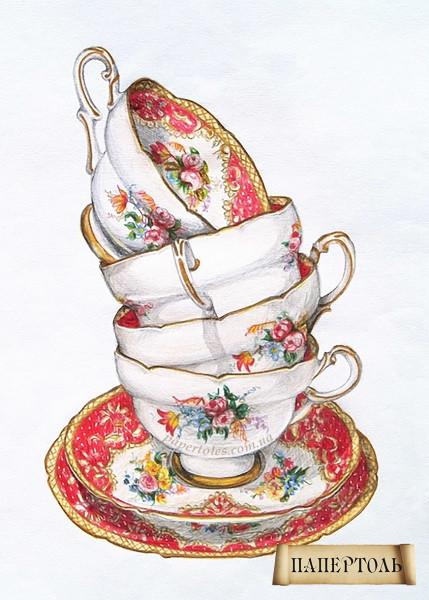 Папертоль Чашки РТ150081