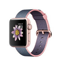 Apple Watch Sport Series 2 38mm Rose Gold Aluminum Case with Light Pink Band