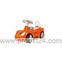 Машина для катания СПОРТ КАР оранжевая