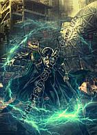 Картина 40х60см Локи Loki молния