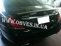 Спойлер Mercedes S-class W222 (копия AMG, полипропилен)