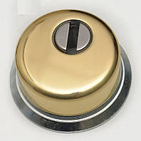 Защитная врезная броненакладка  Azzi fausto Ant Conic (H-25 мм.) золото