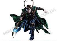 Картина 60х40см Локи Loki скипитр