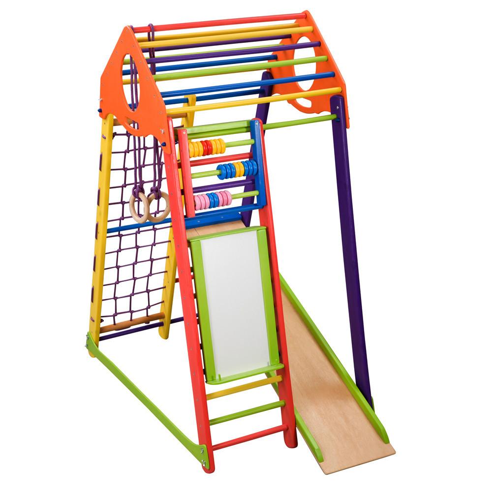 Спортивный комплекс для дома « BambinoWood Color Plus»