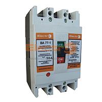 Автоматический выключатель ВА77-1-63 3 полюса 10А Icu 15кА 380В